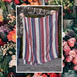 Accessories - Brand New American Flag Scarf